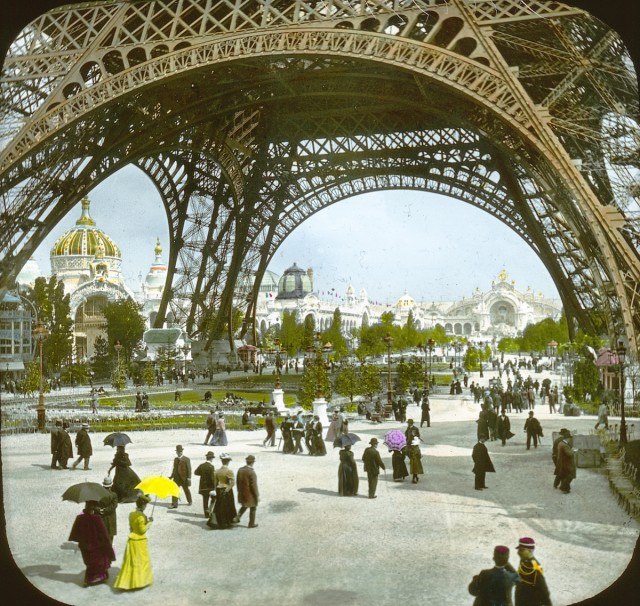 1900 Paris World Fair Captured in Color Photos and on Film