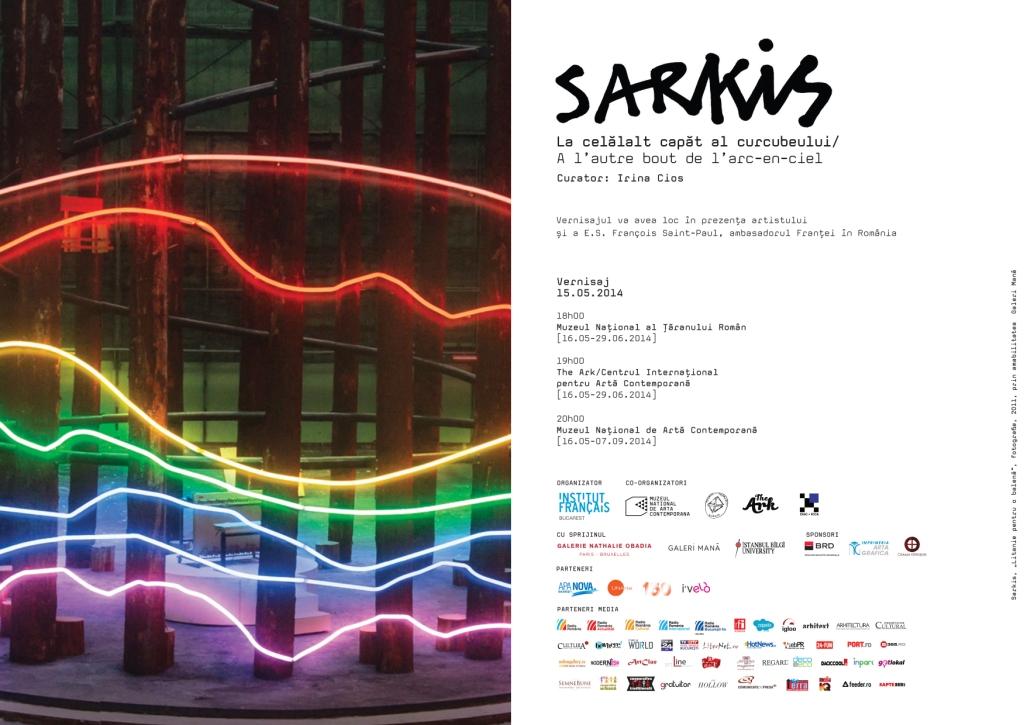 SARKIS – La celălalt capăt al curcubeului @ Muzeul Naţional de Artă Contemporană