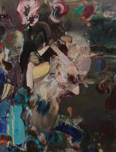 Golems by Adrian Ghenie at Pace Gallery London