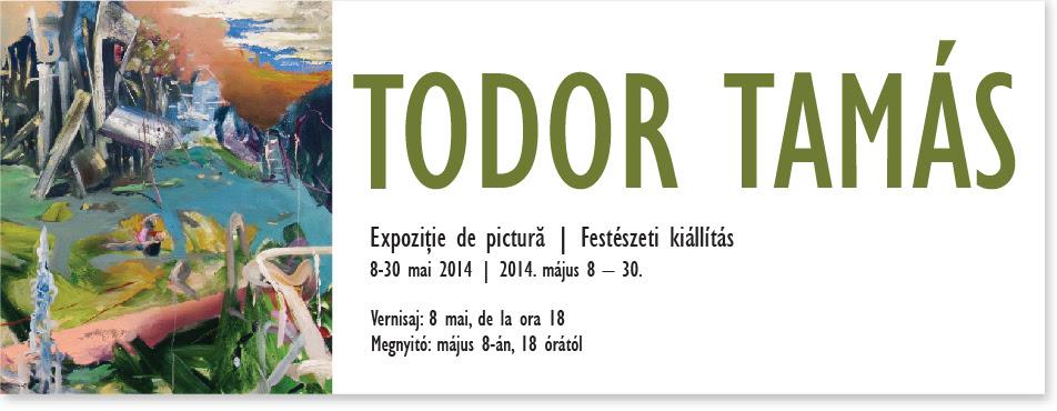 Expoziție de pictură TODOR TAMÁS @ Galeria Quadro, Cluj