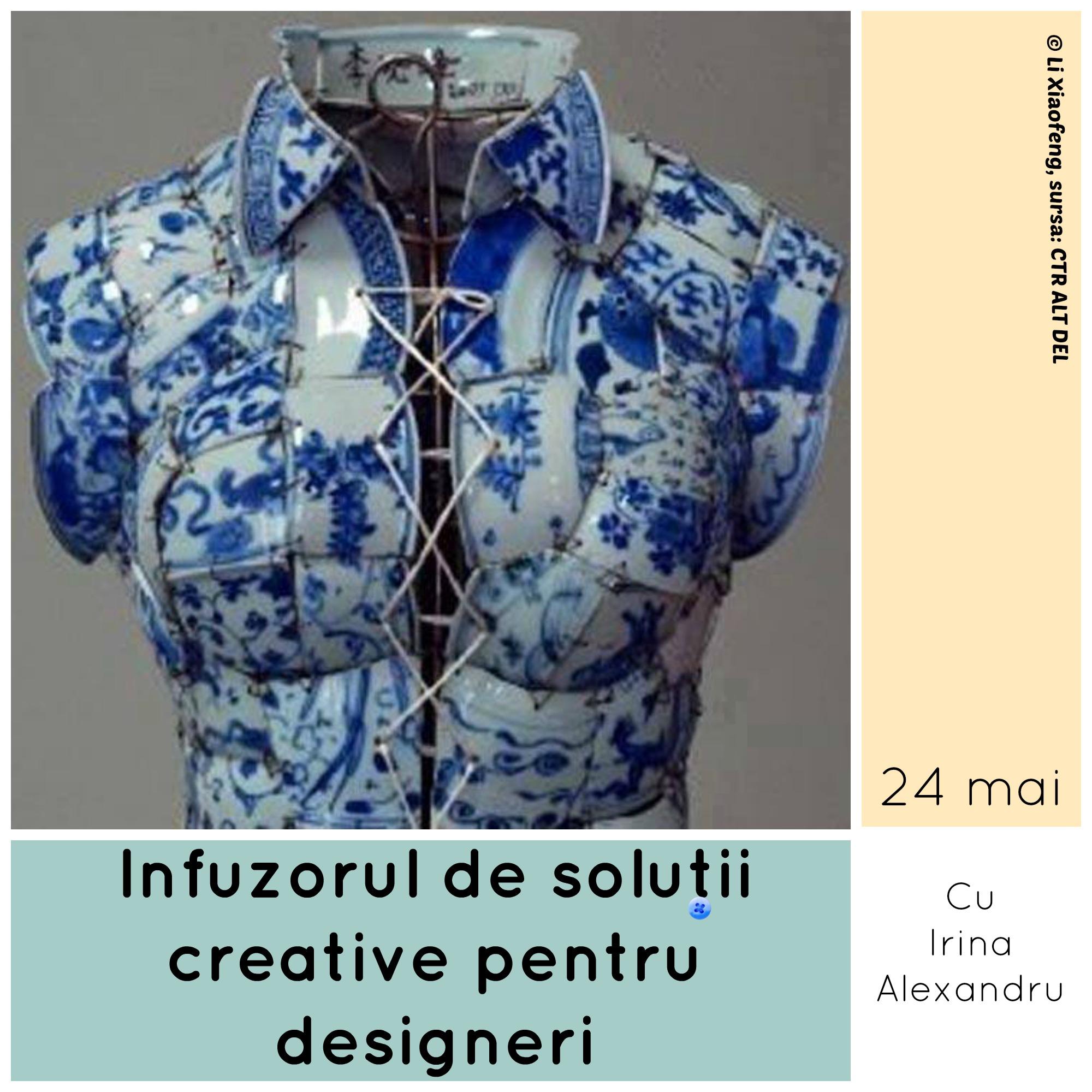 Infuzorul de soluții creative pentru designeri, marca Formare Culturală