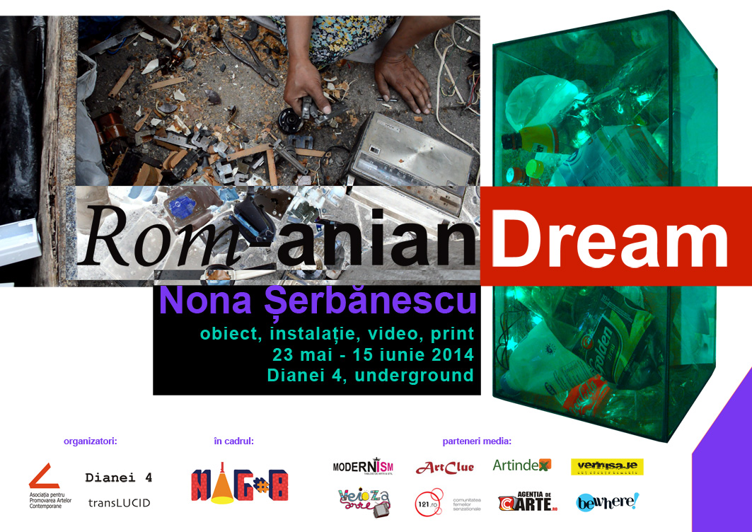 """Nona Șerbănescu """"Rom-anian Dream"""" @ Dianei 4, București"""