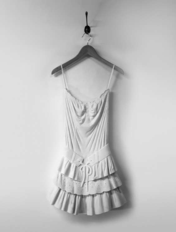 Airy Dresses By Alasdair Thomson Are Carved From Marble