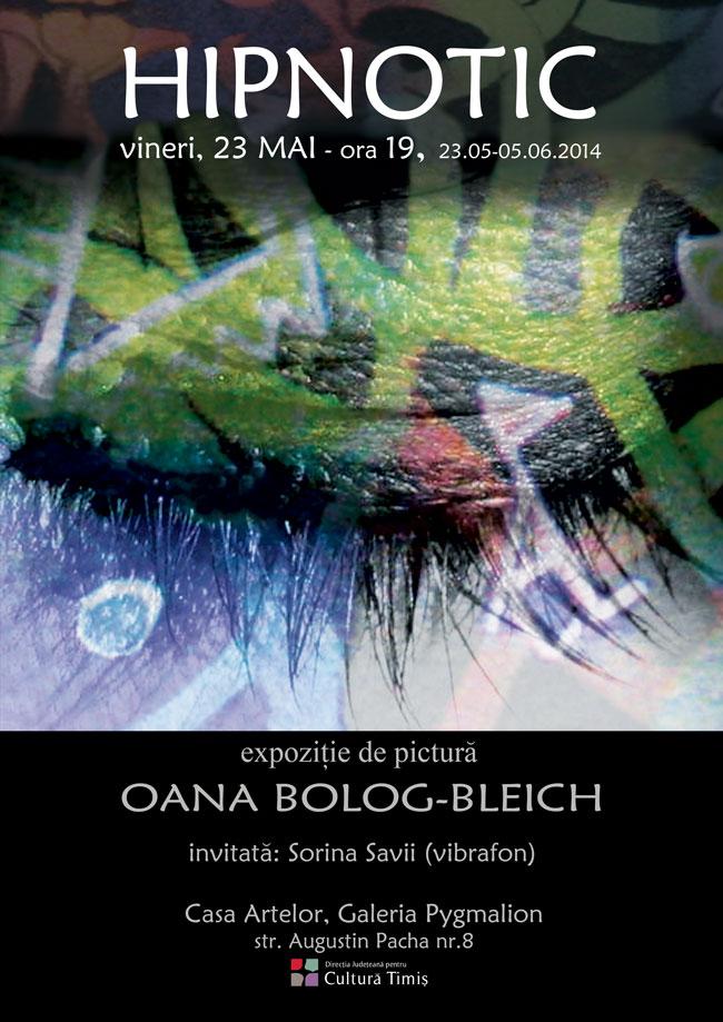 "Oana Bolog-Bleich ""Hipnotic"" @ Galeria Pygmalion, Timișoara"