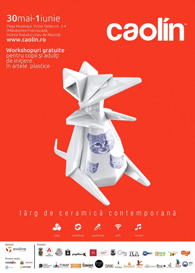 Caolín 2014: Târg de ceramică contemporană cu workshop-uri gratuite