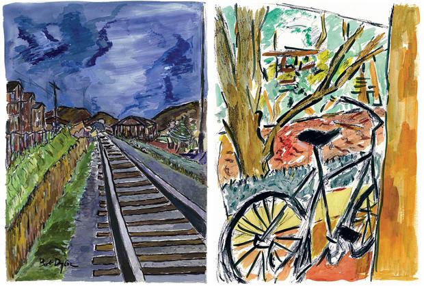 Bob Dylan – pictura @ New York