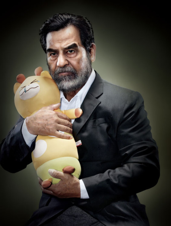 Creepy Photographs Of Infamous Dictators Snuggling Stuffed Animals