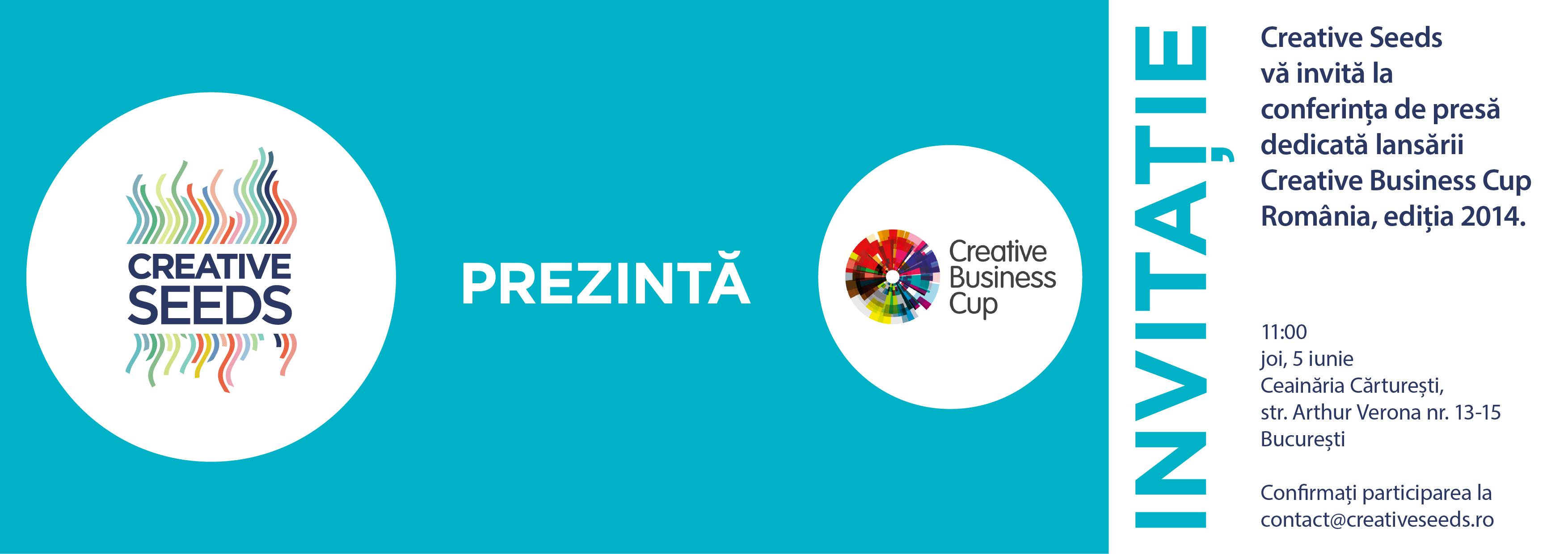 Lansare Creative Seeds, organizație pentru antreprenori din domenii culturale și creative