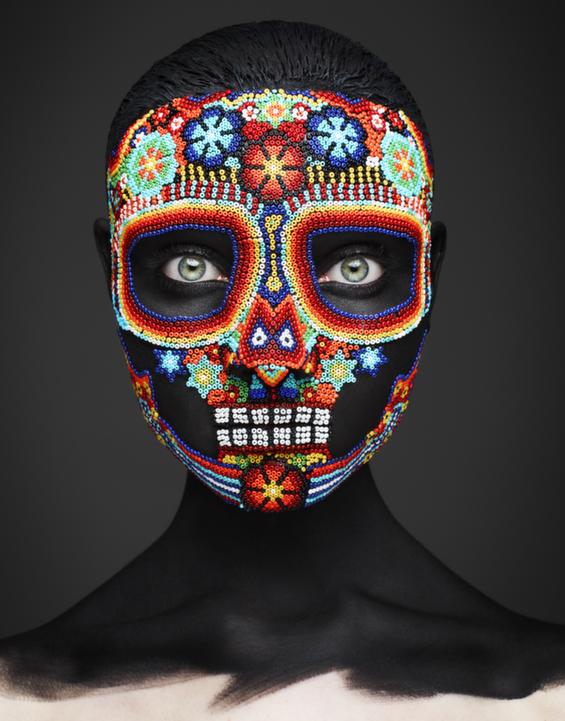 Spellbinding Death Masks And Sugar Skulls