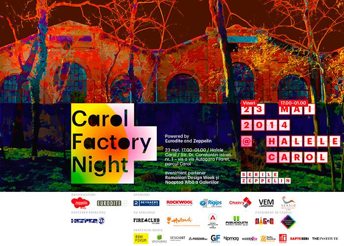 Eveniment Zeppelin + Eurodite @ halele fabricii culturale Carol București