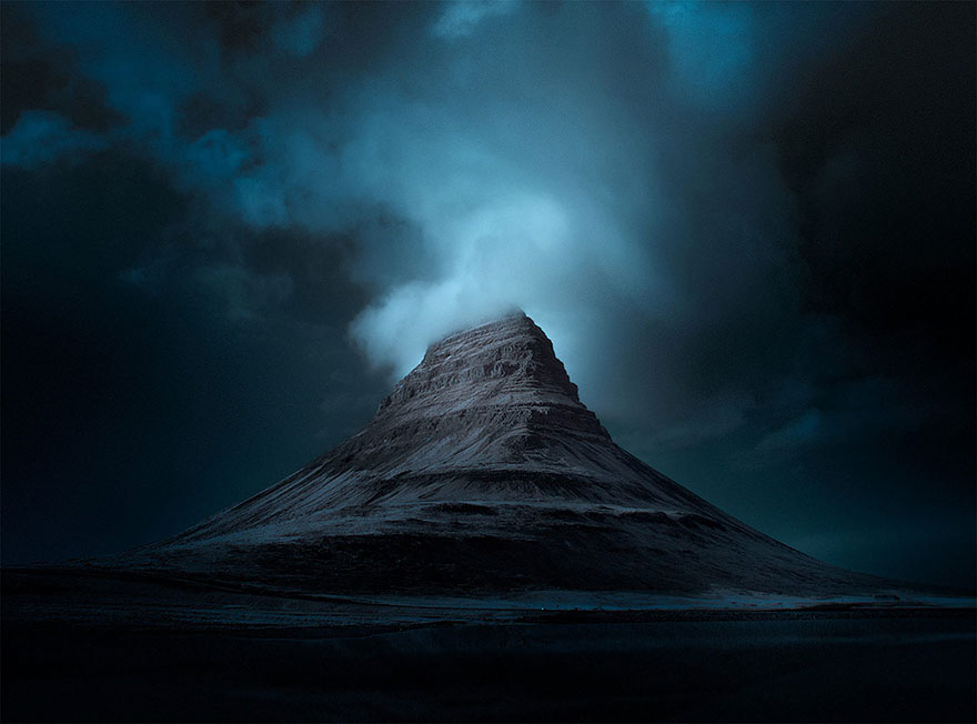 Blue Iceland: Stunning Photos Of Icelandic Landscapes Taken With Infrared Lens