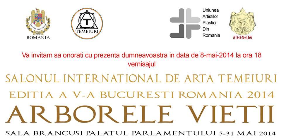 Salonul de artă Temeiuri, editia a V-a @  Sala Constantin Brancusi a Palatului Parlamentului