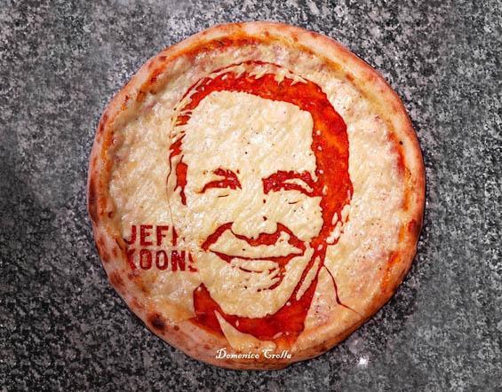 Pizza Artist Domenico Crolla Serves Tasty Celebrity Portraits