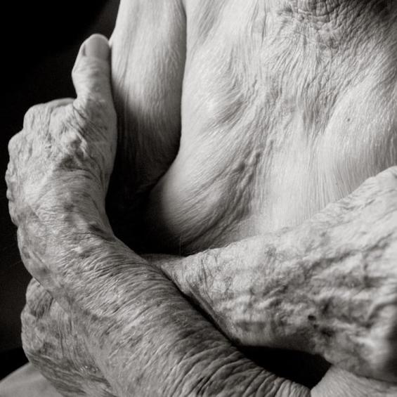 Anastasia Pottinger Captures The Vulnerability Of Aging In Portraits Of Sagging And Wrinkled Skin