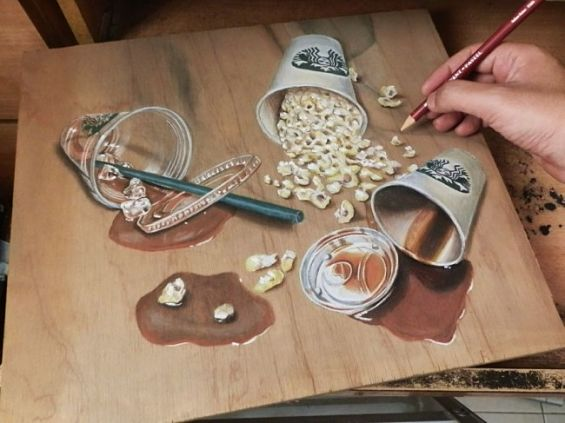 It's Hard To Believe These Photorealistic Images Are Actually Drawings