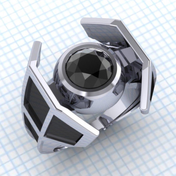 Geeky Engagement Rings For Your Sci-Fi Loving Special Someone