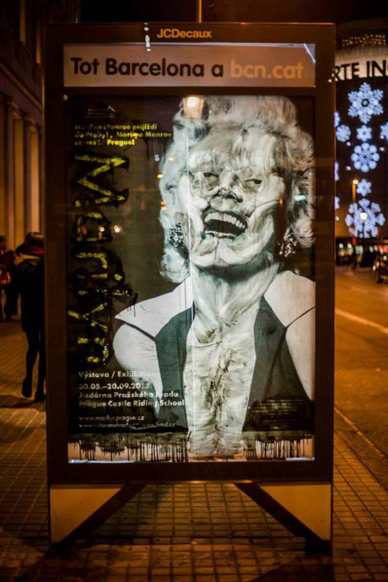 Street Artist Vermibus Dissolves Outdoor Advertising To Create New Imagery