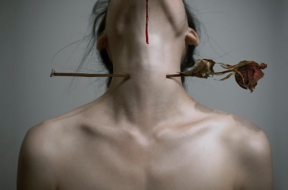 Yung Cheng Lin's Disturbing Photographs Capture An Erotic Drama