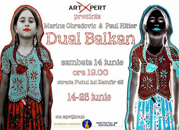 Expozitia Dual Balkan – Paul Hitter si Marina Obradovic