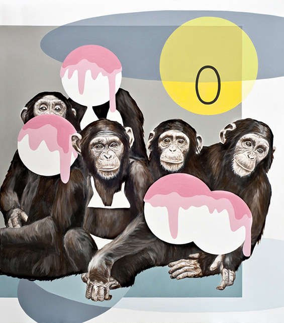 Anja Priska Is Monkeying Around With Humanities Fate