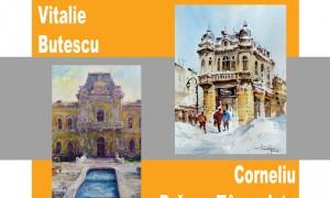 Afis Muzeul Judetean Olt Galeria ARTIS DRAGAN & BUTESCU