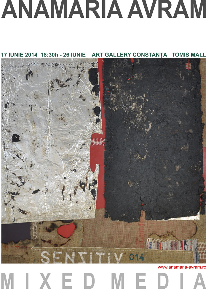 "Anamaria Avram ""Mixed Media"" @ Art Gallery Constanța, Tomis Mall"