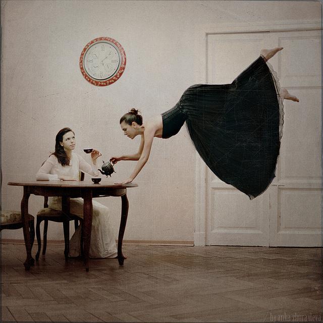 Defying Gravity in Anka Zhuravleva's Photography