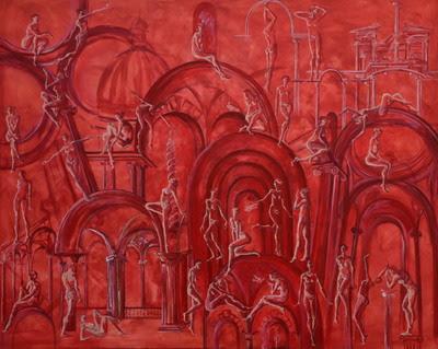 """Claudia Mandi, """"Când pictura surâde"""" – expoziție de pictură @ Accademia di Romania, Roma"""