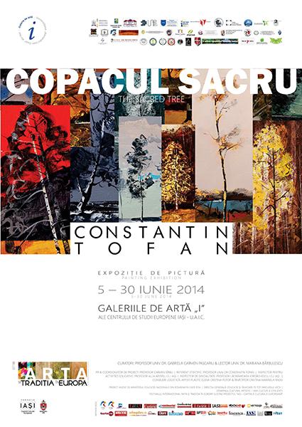 """Constantin Tofan """"Copacul sacru"""" @ Galeriile de Artă """"I"""", Iași"""