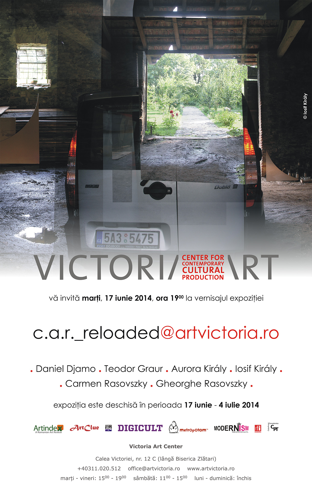 Vernisaj c.a.r._reloaded @ artvictoria.ro