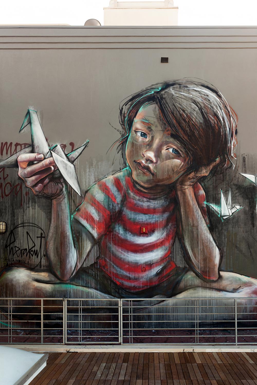Graffiti artist duo Herakut
