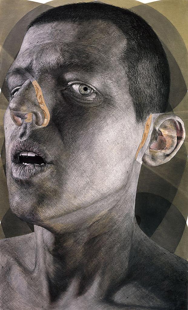 Ian Ingram's Enigmatic Charcoal Drawings