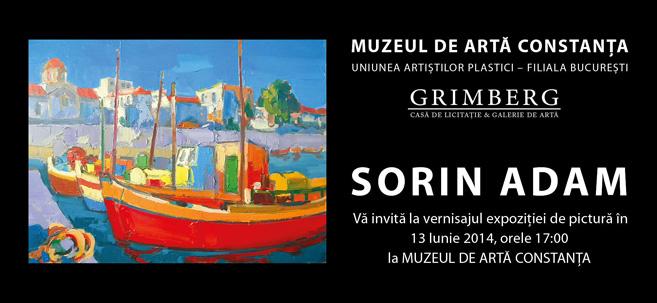 Expoziție de pictură Sorin Adam la Muzeul de Artă Constanța