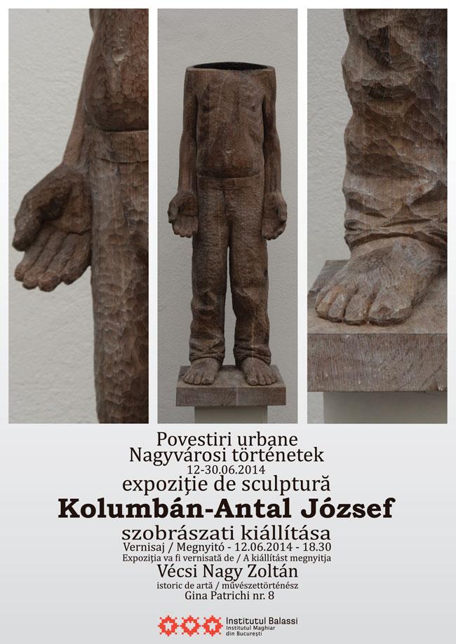 "Kolumbán- Antal József, ""Povestiri Urbane"" @ Institutul Maghiar Balassi, București"