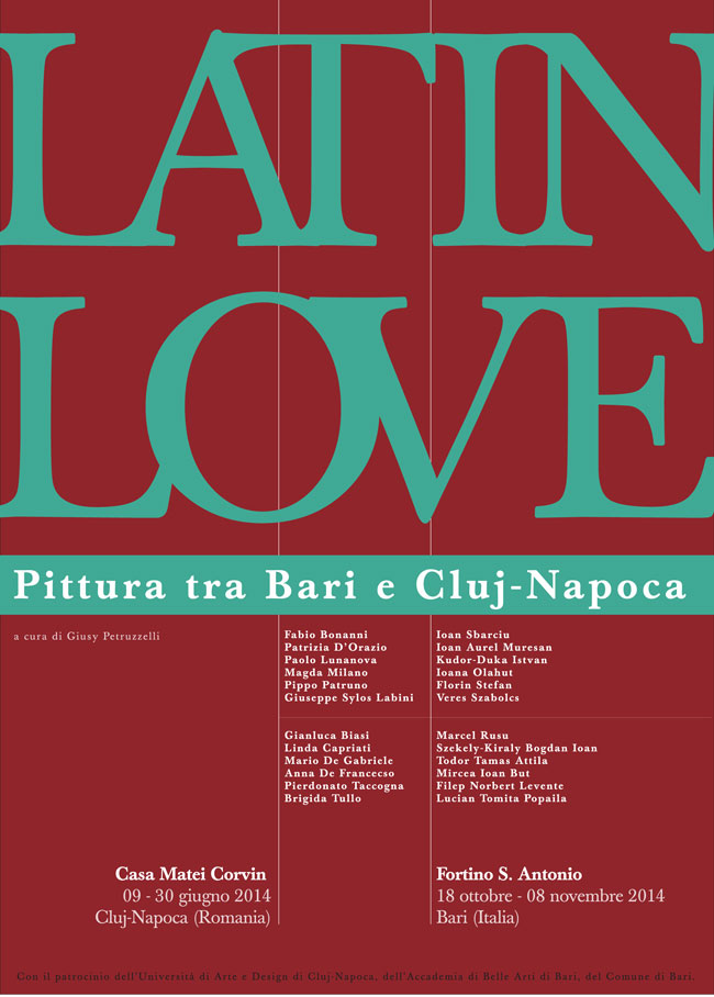 Latin Love – pictură Bari – Cluj-Napoca @ Galeria Casa Matei, Cluj-Napoca
