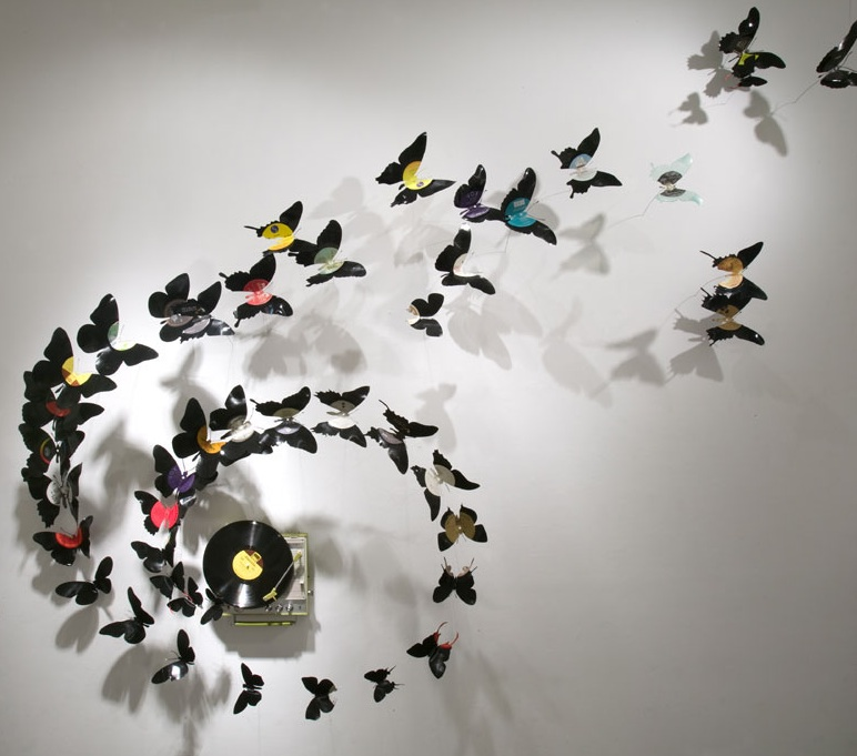Paul Villinski, or how a beer can reincarnates into a butterfly