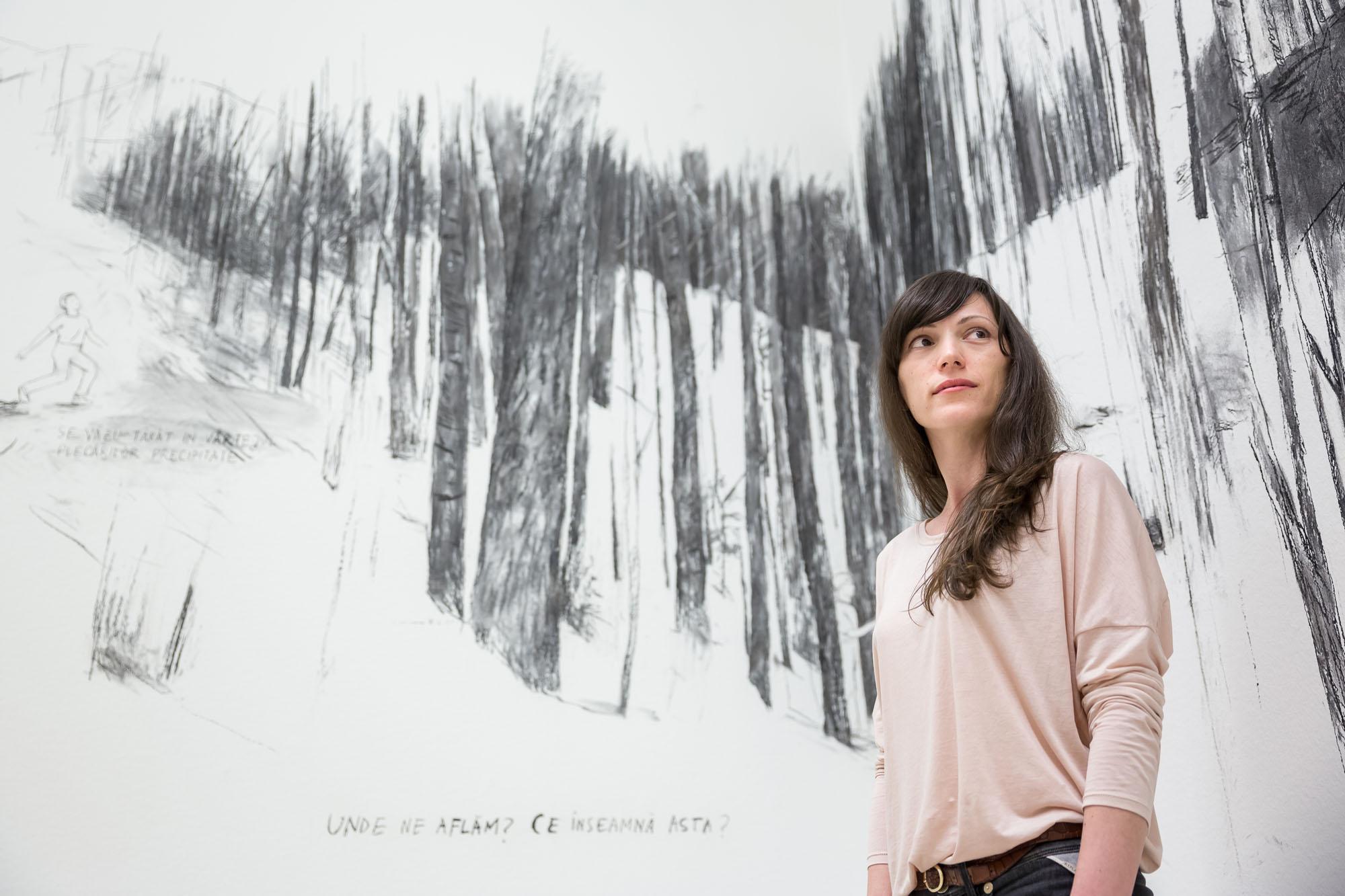 O artistă română expune la Muzeul Leopold din Viena