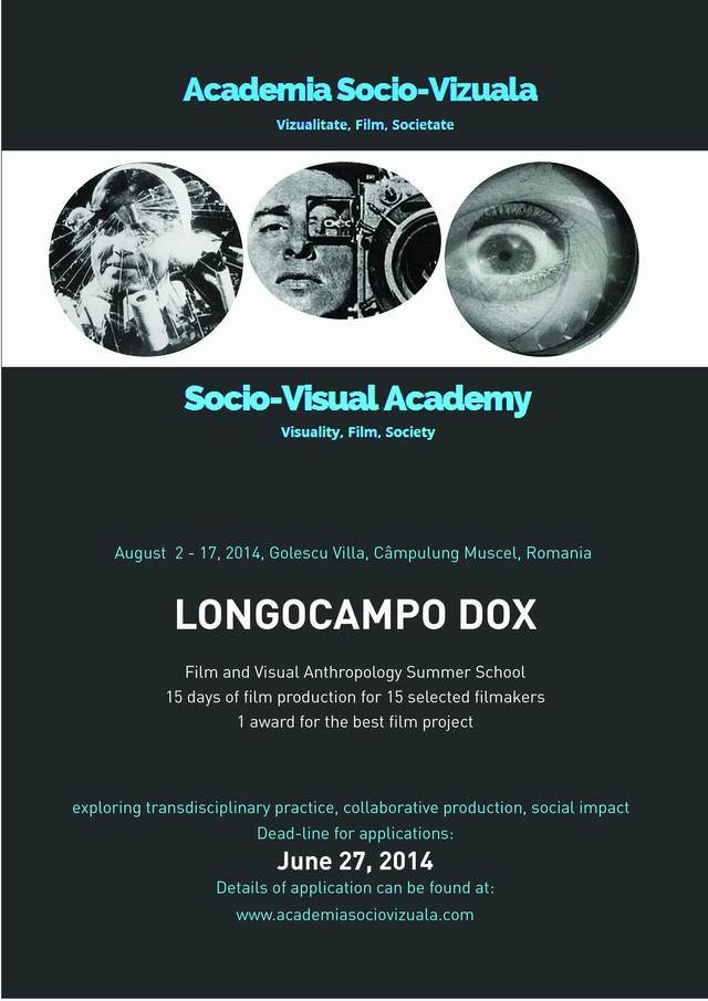 LONGOCAMPO DOX – școală de vară film documentar și antropologie vizuala
