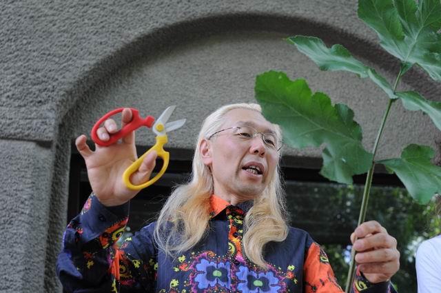 Shogo Kariyazaki Kariyzaki – ikebana @ Gradina Botanica Bucuresti