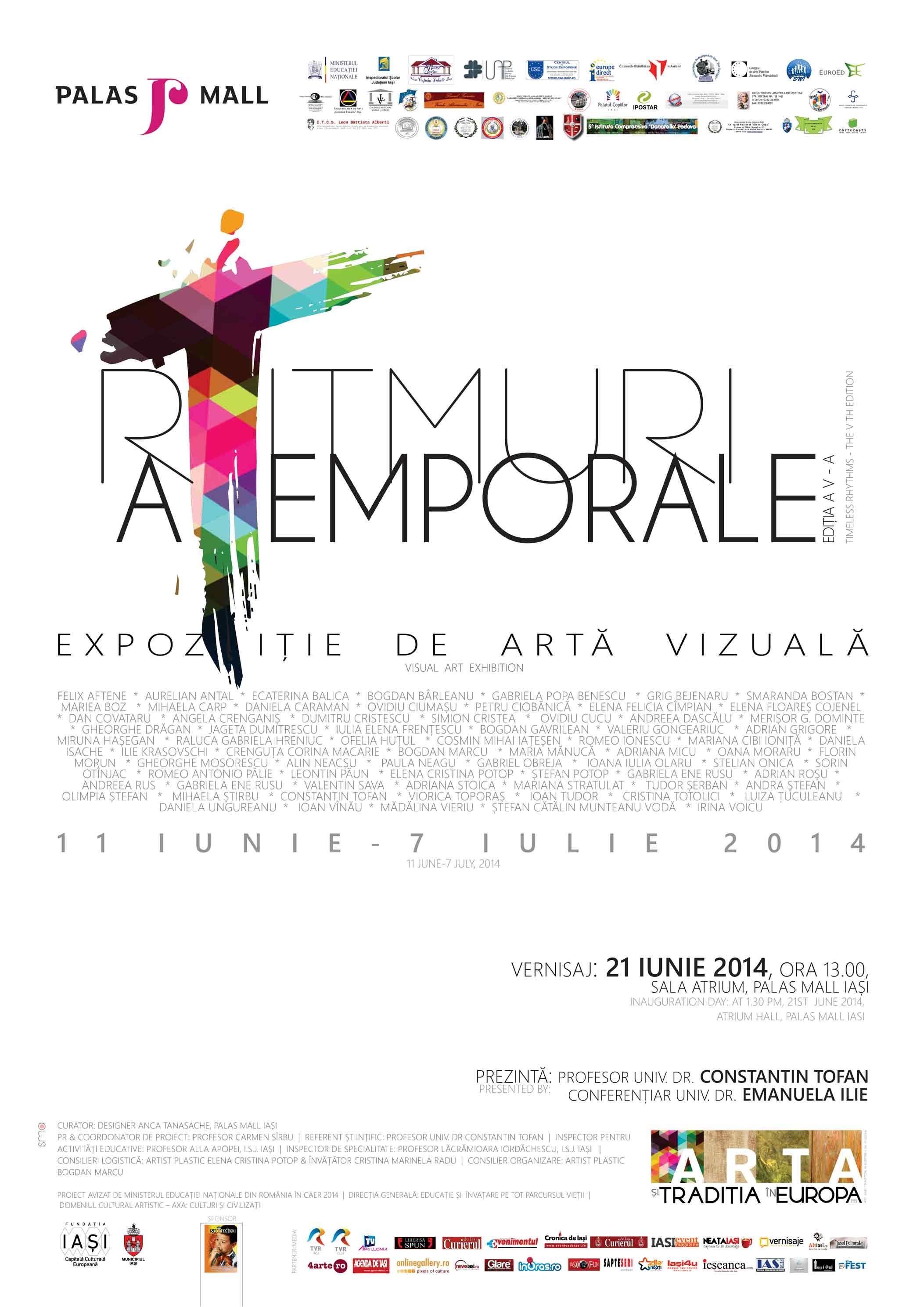 """""""Ritmuri atemporale"""" @ Palas Mall Iași"""