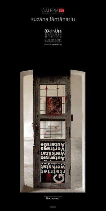 Expozitia 89 din Uşă – un Proiect de artă și memorie a Suzanei Fântânariu
