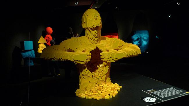The Art of the Brick by Nathan Sawaya