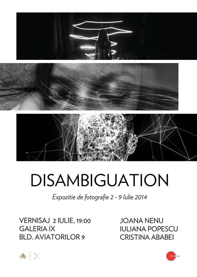 """Studenții UNARTE, secția foto-video """"Disambiguation"""" @ Galeria IX, București"""
