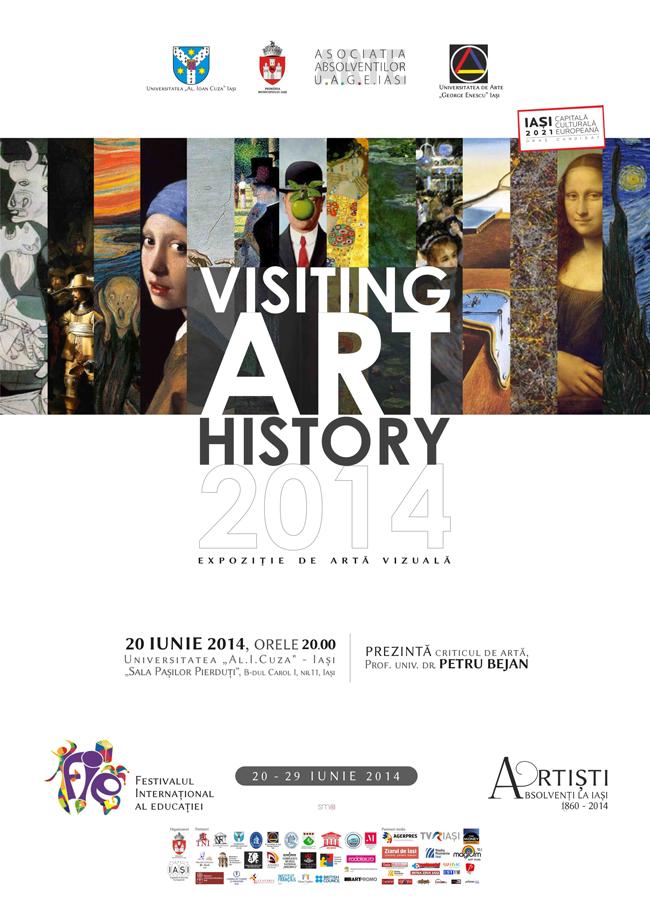 Expoziţiile Asociaţiei Absolvenţilor Universităţii de Arte George Enescu, Iaşi