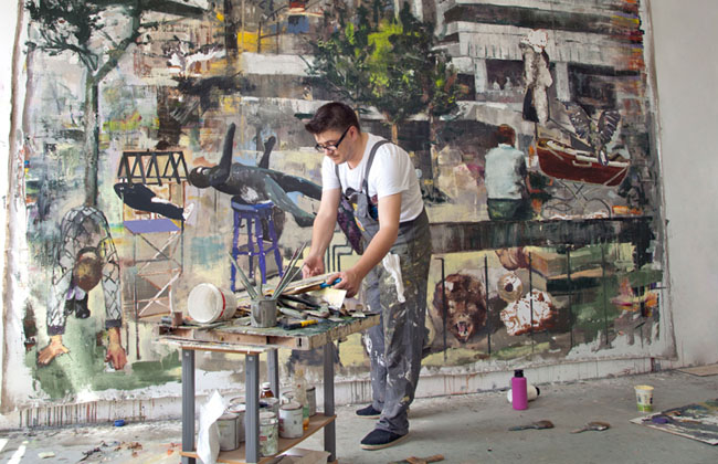 Marius Bercea @ Galerie Isa, Mumbai