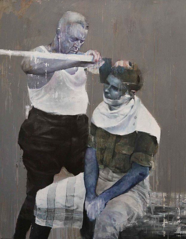 Lou Ros's Paintings of Fading Moments