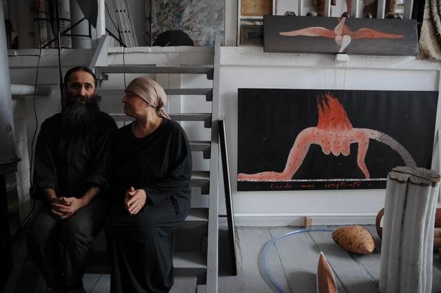 Victoria & Marian Zidaru – vizita in atelier