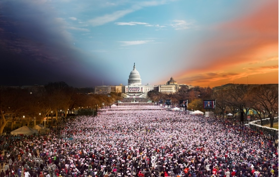 Stephen Wilkes' Cleverly Captures The Transition From Day To Night In One Photograph