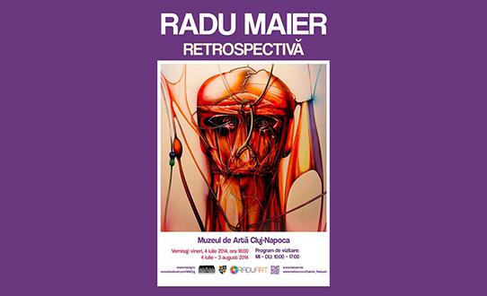 Radu Maier – Retrospectivă @ Muzeul de Artă Cluj-Napoca