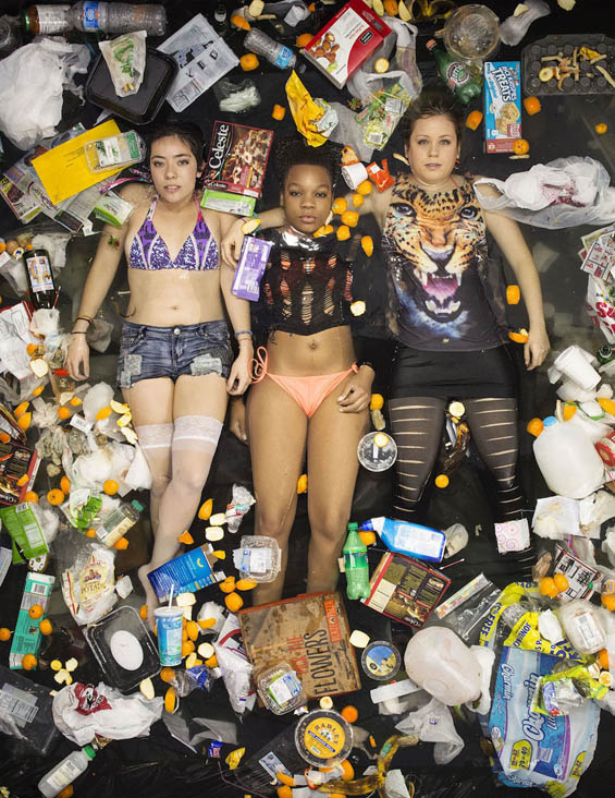 Gregg Segal's Poignant Portraits Of People Surrounded By One Week Of Their Own Trash